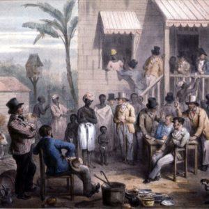 vente d'une esclave