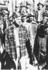 "Labor leader Clinton Jencks (center) in the fictionalized film ""Salt of the Earth"""
