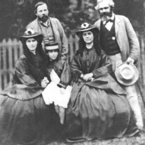 Engels, Marx with Marx's daughters