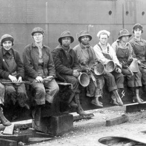 Seattle Strike 1919 Women workers B&W for web