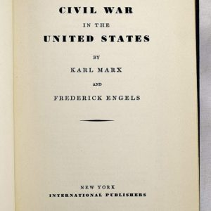 The Civil War in the United States by Karl Marx