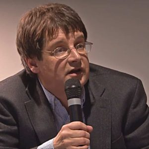 John Bellamy Foster delivering the Luxemburg Lecture in Berlin, Germany (June 6, 2013)