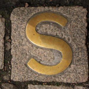 A sanctuary marker