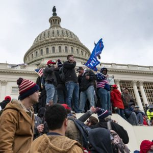Protest at the United States Capital, January 6, 2021