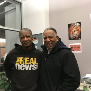 Eddie Conway and Paul Coates on February 20, 2020