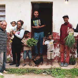 The Colmenares family, in one of Venezuela's 3,120 registered communes. Photo credit: Michele de Mello
