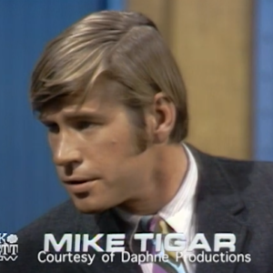 Michael Tigar on the Dick Cavett Show, speaking about the trial of the Chicago Seven (or rather, the Chicago Eight, including Bobby Seale)