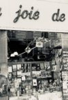 The bookstore La joie de lire, rue Saint-Séverin, started by François Maspero in 1956
