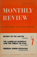 Monthly Review Volume 2, Number 7 (November 1950)