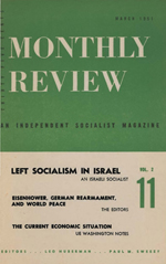 Monthly Review Volume 2, Number 11 (March 1951)