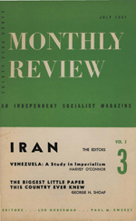Monthly Review Volume 3, Number 3 (July 1951)