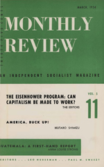 Monthly Review Volume 5, Number 11 (March 1954)
