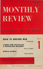 Monthly Review Volume 6, Number 1 (May 1954)