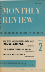 Monthly Review Volume 6, Number 2 (June 1954)