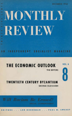 Monthly Review Volume 6, Number 8 (December 1954)