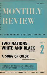 Monthly Review Volume 8, Number 2 (June 1956)