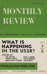 Monthly Review Volume 8, Number 3 (July 1956)