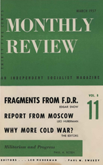 Monthly Review Volume 8, Number 11 (March 1957)