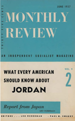 Monthly Review Volume 9, Number 2 (June 1957)