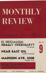 Monthly Review Volume 10, Number 8 (January 1959)