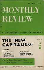 Monthly Review Volume 11, Number 3 (July-August 1959)