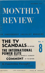 Monthly Review Volume 11, Number 7 (December 1959)