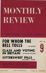 Monthly Review Volume 11, Number 8 (January 1960)