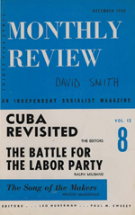 Monthly Review Volume 12, Number 7 (December 1960)