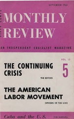 Monthly Review Volume 13, Number 4 (September 1961)
