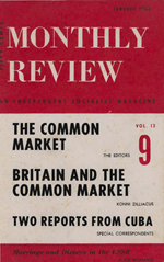 Monthly Review Volume 13, Number 8 (January 1962)
