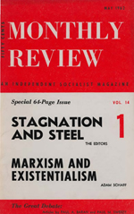 Monthly Review Volume 14, Number 1 (May 1962)
