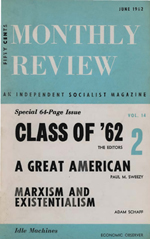 Monthly Review Volume 14, Number 2 (June 1962)