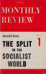 Monthly Review Volume 15, Number 1 (May 1963)