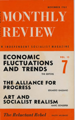 Monthly Review Volume 15, Number 6 (November 1963)