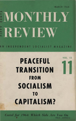 Monthly Review Volume 15, Number 10 (March 1964)
