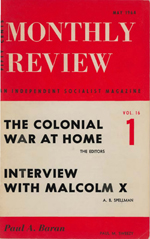 Monthly Review Volume 16, Number 1 (May 1964)