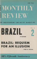 Monthly Review Volume 16, Number 2 (June 1964)