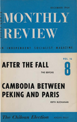 Monthly Review Volume 16, Number 7 (December 1964)