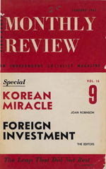 Monthly Review Volume 16, Number 8 (January 1965)