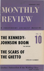 Monthly Review Volume 16, Number 9 (February 1965)