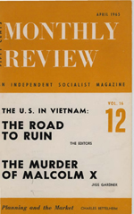 Monthly Review Volume 16, Number 11 (April 1965)