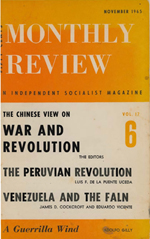 Monthly Review Volume 17, Number 6 (November 1965)
