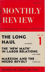 Monthly Review Volume 18, Number 1 (May 1966)
