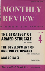 Monthly Review Volume 18, Number 4 (September 1966)