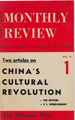 Monthly Review Volume 19, Number 1 (May 1967)