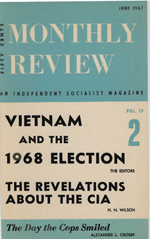Monthly Review Volume 19, Number 2 (June 1967)