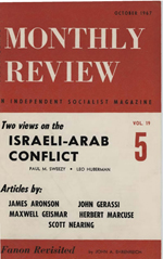 Monthly Review Volume 19, Number 5 (October 1967)