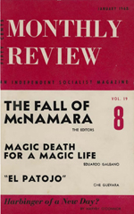 Monthly Review Volume 19, Number 8 (January 1968)