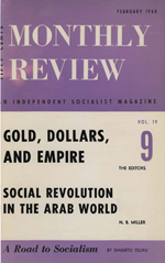 Monthly Review Volume 19, Number 9 (February 1968)