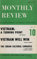 Monthly Review Volume 19, Number 10 (March 1968)